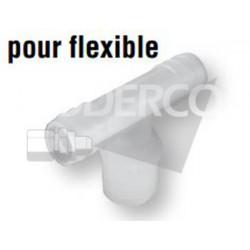 Té de tuyau X pour flexible SHURFLO 8-010
