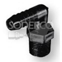 Coude de tuyau X pour flexible SHURFLO 8-006-01