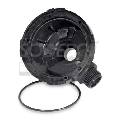 Carter à 90°pour débitmètre SHURFLO FM-1100 monté sur pompe 94-735-00
