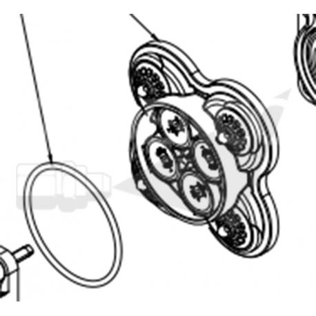 Kit de valves pour pompe SHURFLO